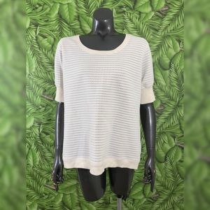Range Rover Collection Pointelle Knit Top
